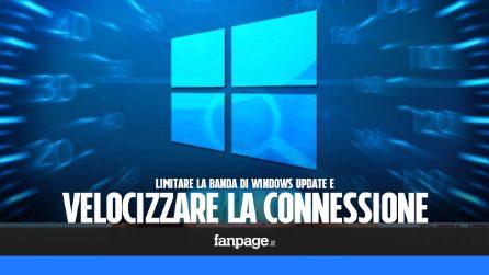 Se la tua connessione è lenta, potrebbe essere colpa di Windows Update