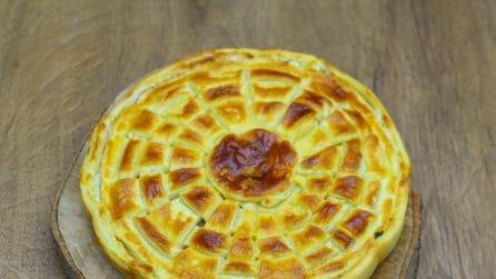 Torta spinacino, gustosa e dal risultato sbalorditivo!