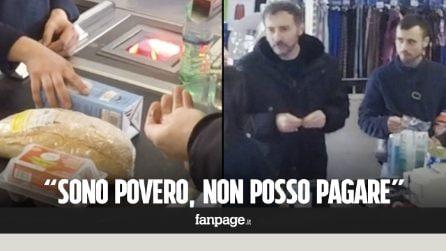 Arriva alla cassa ma non ha soldi per pane e latte, le reazioni della gente [Esperimento sociale]