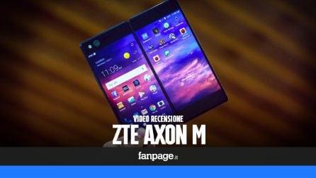 ZTE Axon M, video recensione dello smartphone con doppio display
