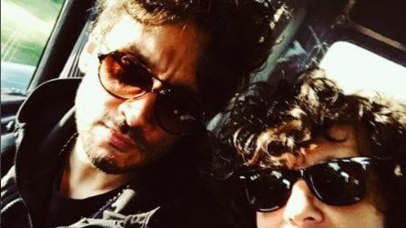 Ermal Meta e Fabrizio Moro scherzano a Lisbona e preparano l'Eurovision