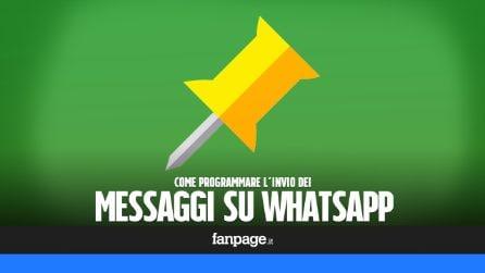 Programmare l'invio dei messaggi su WhatsApp