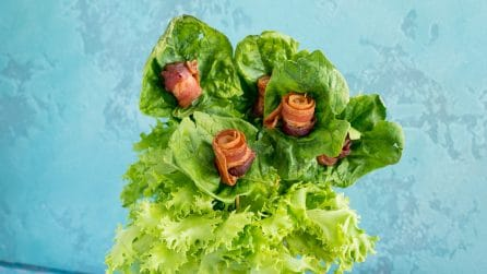 Come fare un bouquet di bacon: l'idea creativa e golosa