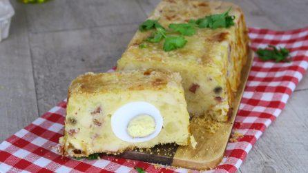 Plumcake di patate: caldo, filante e pieno di gusto!