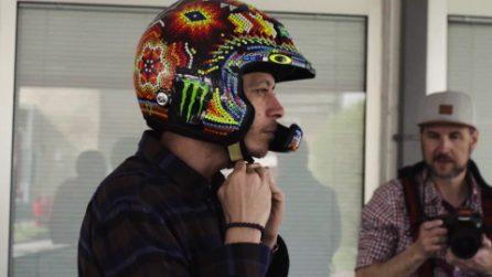 Test a Fiorano per Rossi, il Dottore al volante della Ferrari 488 Pista