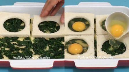 Torta rustica con pancarré e uova: perfetta per una cena gustosa
