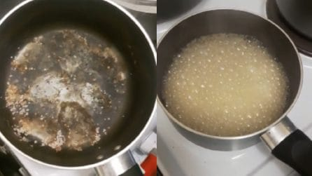 Come pulire una pentola bruciata: un metodo utile e veloce