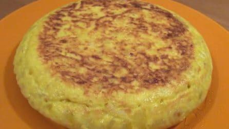 Omelette di patate spagnola: squisita e facile da preparare