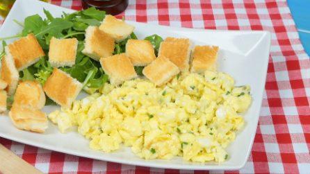 Come fare le uova strapazzate