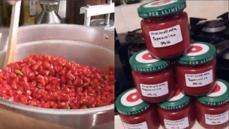 La ricetta per preparare un'ottima marmellata di peperoncini