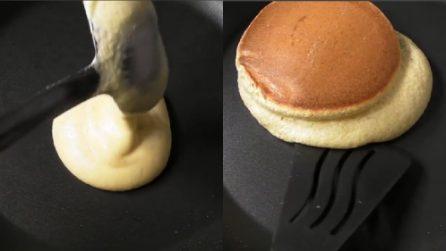 Pancakes soufflé con cioccolato: i più piccoli ne andranno matti