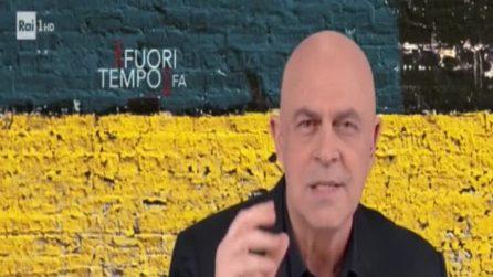 """Crozza: """"Fico, il Paese dipende da uno che ha studiato Gigi D'Alessio"""""""
