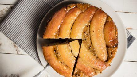 Torta rovesciata alla banana