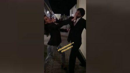 Amici, cosa fanno Marco Bocci e Giulia Michelini prima del serale