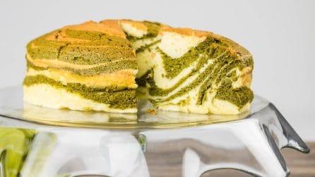 Cheesecake matcha: la torta al the verde da provare assolutamente!