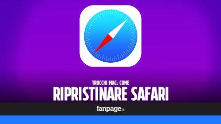 Come ripristinare Safari su Mac se non funziona o se ha virus e malware