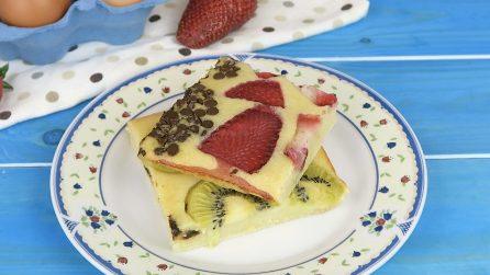 Pancakes in teglia: li proverete subito!