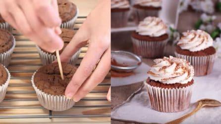 Cupcake al tiramisù: il sapore del caffè e del mascarpone in un solo morso