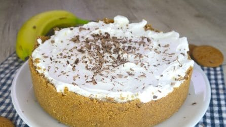 Banoffee pie: a delicious caramel pie that will make your mouth water!
