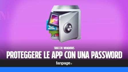 Trucchi Windows: bloccare app e giochi con una password