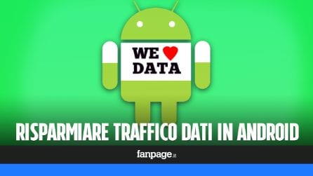 Se vuoi risparmiare traffico dati in Android, attiva immediatametne questa funzione
