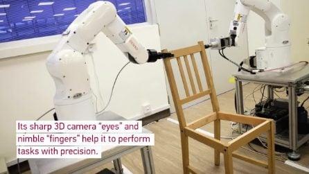 Questo robot è più bravo di te a montare i mobili IKEA