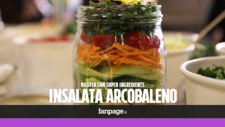 """Insalata arcobaleno: la ricetta per la pausa pranzo con i """"Super Ingredients"""""""