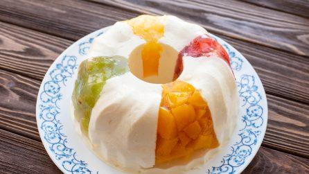Gelatin cake