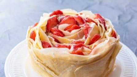 Torta di crepes: il dolce primaverile che ameranno tutti!