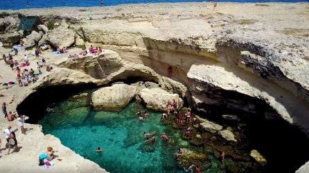 Grotta della Poesia, paradiso italiano tra i più belli al mondo nasconde una leggenda d'amore