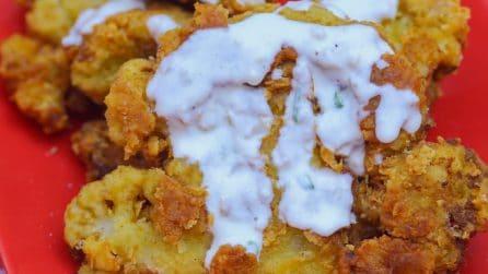 Chicken-Fried Cauliflower