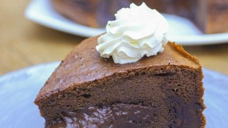 Double Chocolate Castella Cake