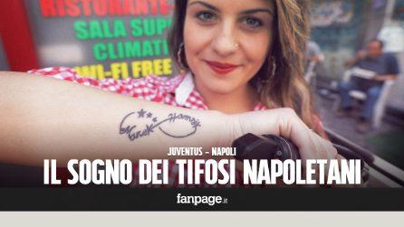 """Il sogno dei tifosi napoletani: """"Vi chiediamo di vincere per noi che non abbiamo mai visto lo scudetto"""""""