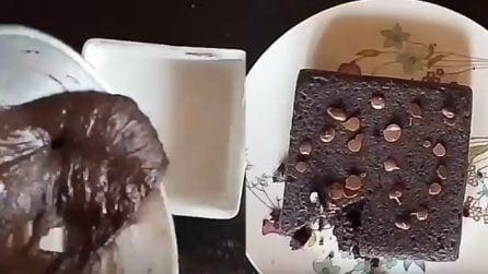 Come fare un gustoso tortino al cioccolato senza uova