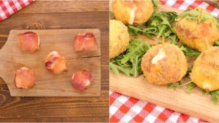 Mozzarelline fritte: il metodo geniale per farle in 5 minuti senza sporcarsi!
