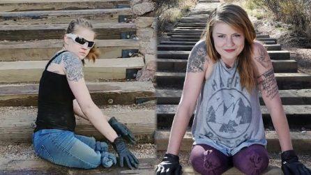 Braccia di acciaio e tanto cuore: la scalata della donna amputata che ha dato una lezione al mondo