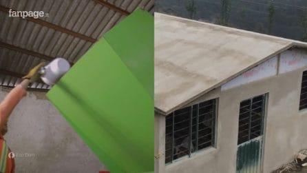 Costruisce appartamenti per meno di 250 euro. Il materiale segreto? La plastica riciclata