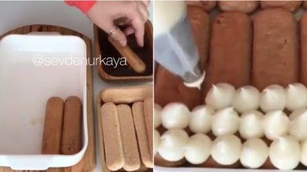 Tiramisù con crema pasticcera: la variante golosa di uno dei dolci più amati
