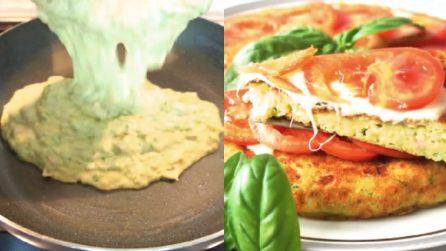 Torta salata con zucchine cotta in padella: facile, veloce e buonissima