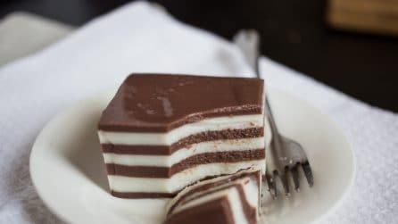 Budino vaniglia e cioccolato, facile e goloso!