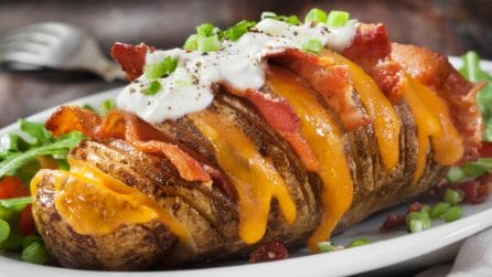Hasselback BBQ Potatoes