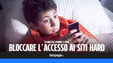 Se tuo figlio usa l'iPhone, attiva il blocco dei contenuti per adulti