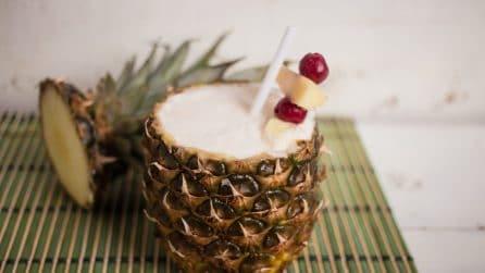 Piña Colada: ecco come servirla in modo originale!