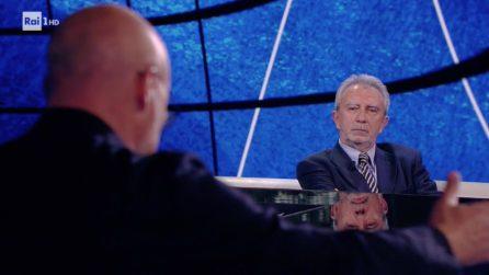 """Luca Zingaretti legge Aldo Moro davanti al figlio Giovanni: """"È il bene, non il male, che rende possibile la vita"""""""