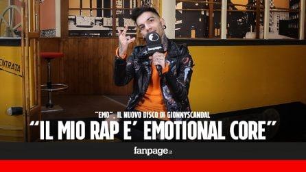 """Emo, il nuovo disco di GionnyScandal: """"Il mio emo rap che suscita ricordi e sentimenti"""""""