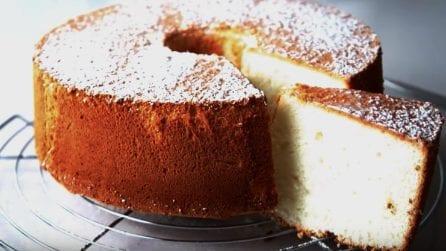 Angel cake: una torta soffice e dal sapore unico
