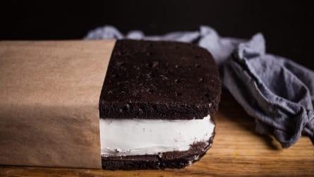 Gelato gigante al cioccolato: buono, facile e veloce!