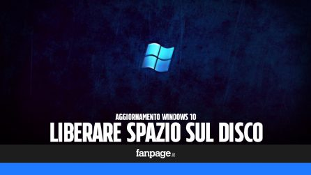 Se hai appena aggiornato Windows, esegui questa procedura per liberare spazio