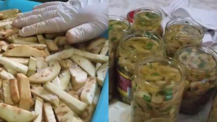 Come preparare ottime melanzane sott'olio