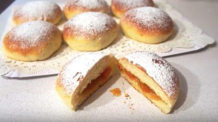 Bomboloni cotti al forno con marmellata: farete felici i più piccoli
